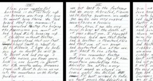 Thank you letters from Americans saved by Kostaq Stefa